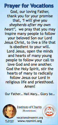 vocations prayer